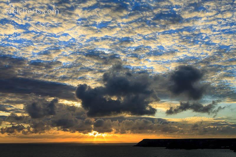 Sonnenuntergang, Lizard, Cornwall