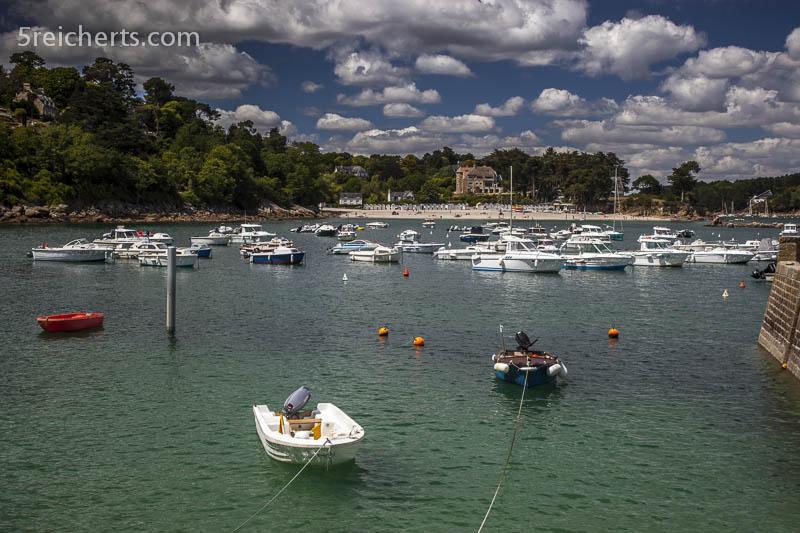 Der Hafen von Port Manec'h