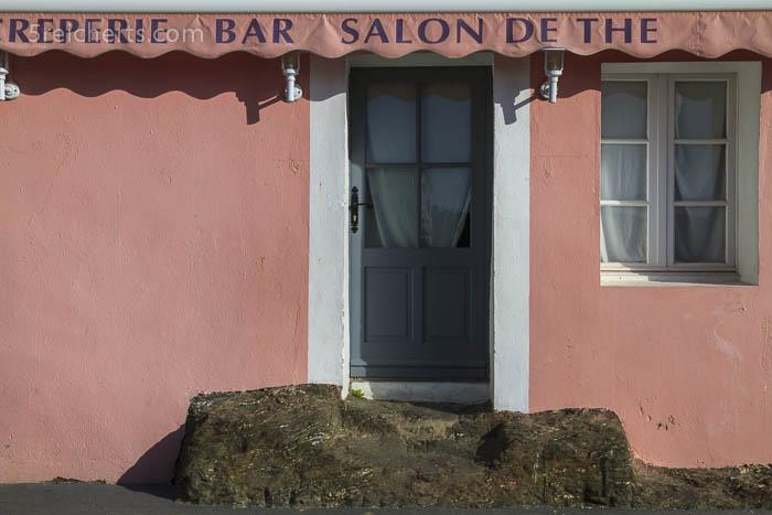 Naturstufen, Sauzon, Belle Ile, Bretagne