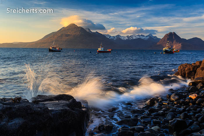 Abendstimmung in Elgol, Isle of Skye