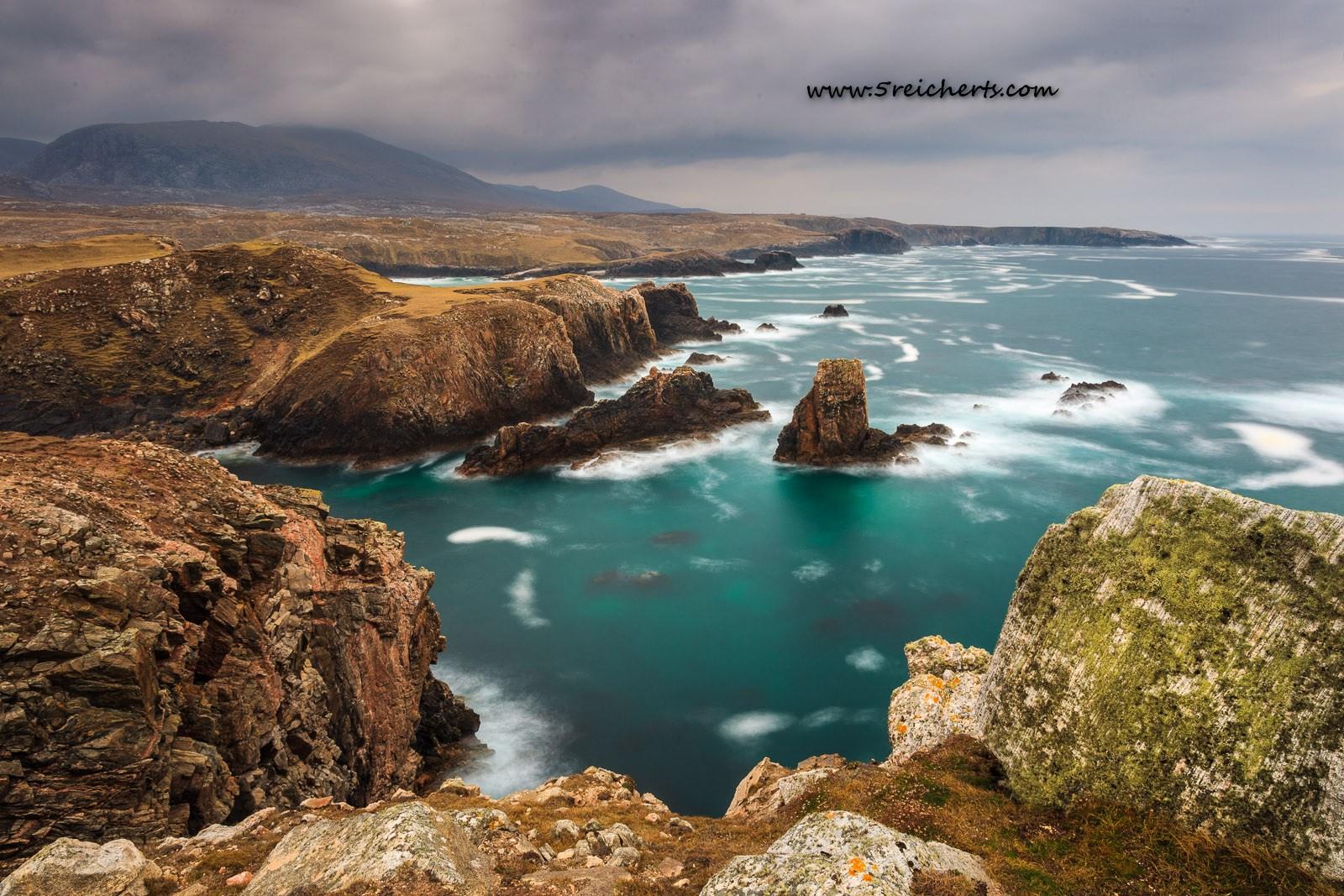 Küste bei Uig, Isle of Lewis, Schottland