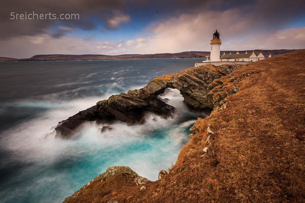 Bressay Lighthouse am Morgen