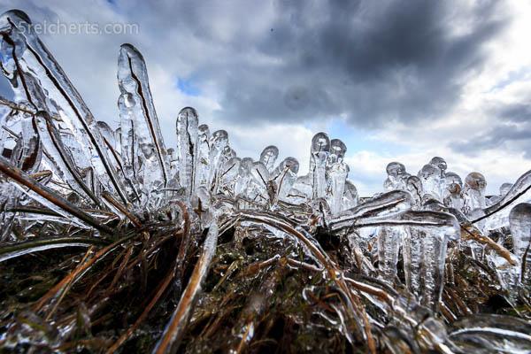 Eisskulptur, Bressay, Shetland