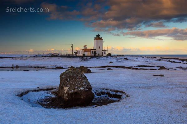 Felsen vor dem Eshaness Leuchtturm, Shetland