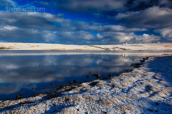 Der See und der Leuchtturm, Eshaness, Shetland