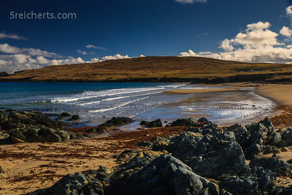 Landschaft in Unst