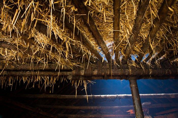 Im Iron Age House, Bosta Beach, Bernera