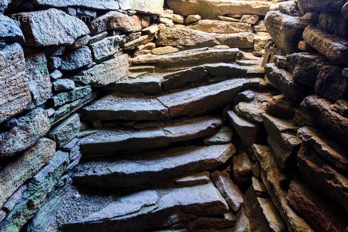 Treppen im Broch