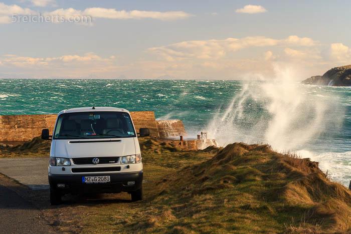 unser Auto und Wellen