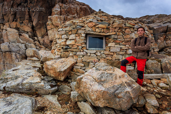 Hütte in den Felsen, Uig, Isle of Lewis