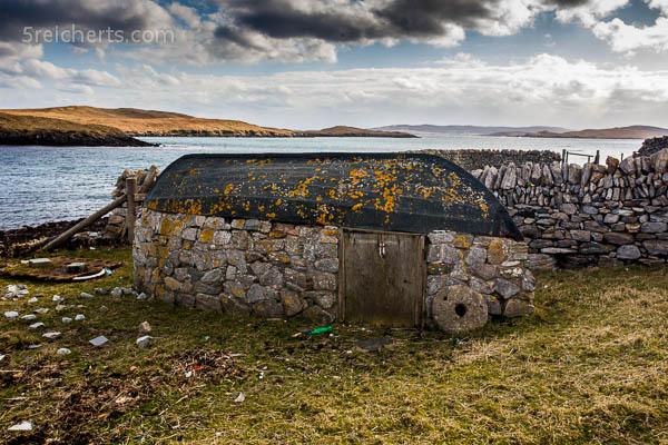 Bootsrecyling, Shetland