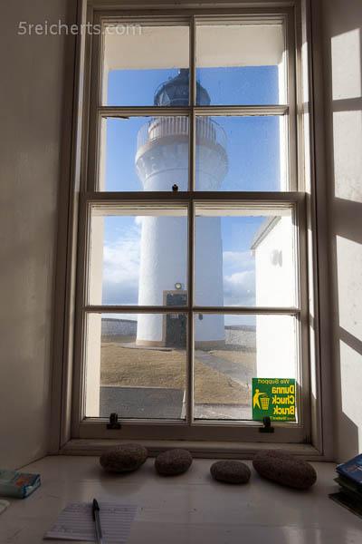 der Blick aus dem Wohnzimmerfenster, Bressay