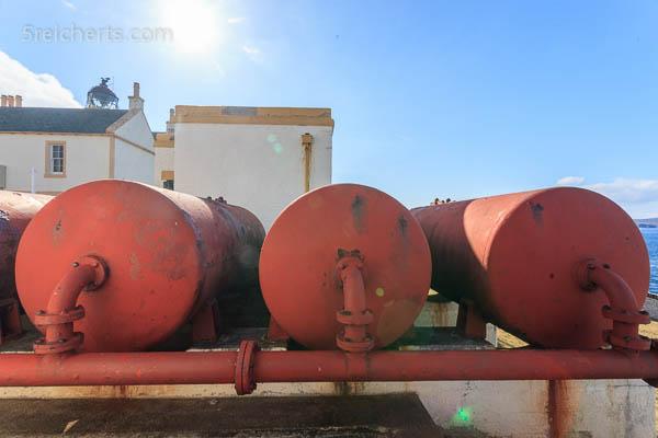 Tanks für die Komprimierte Luft