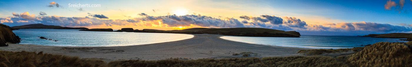 St Ninian Isle, Panorama, Shetland