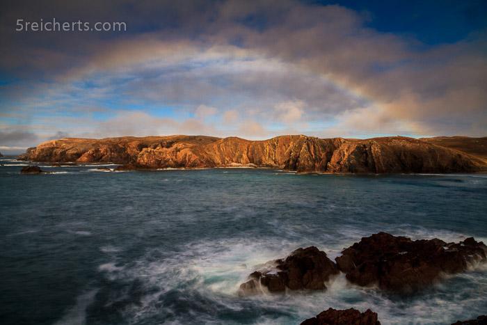 Nebelbogen, Mangersta, Uig, Isle of Lewis
