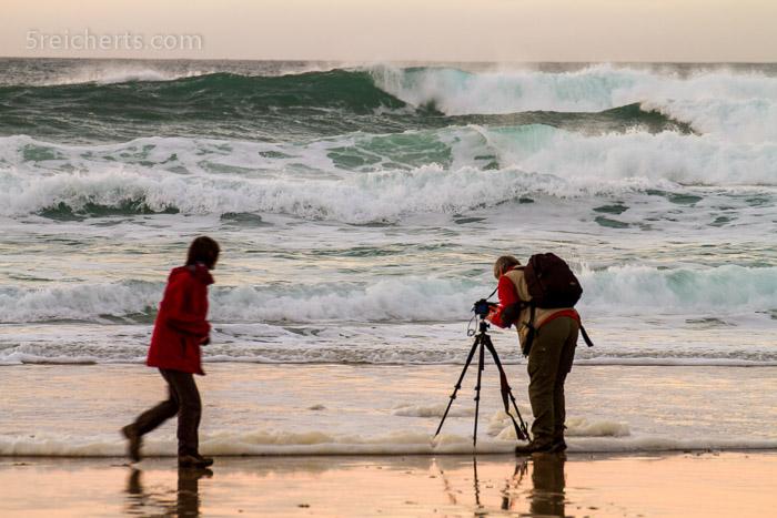 In der Welle stehen, ein Muß!