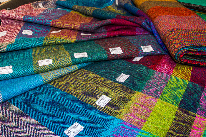Harris Tweed Farbmischung