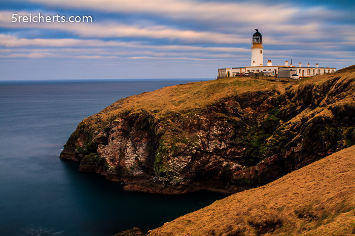 Leuchtturm im Abendlicht, Isle of Lewis