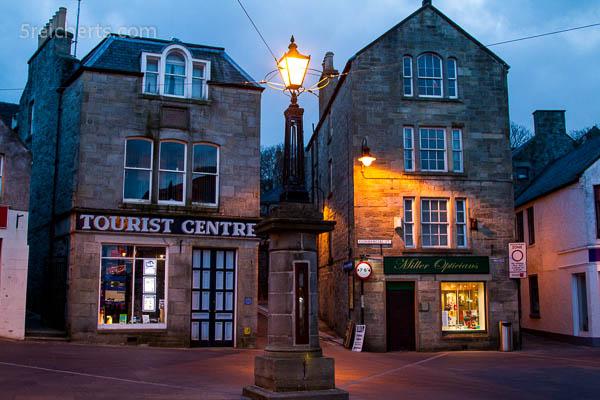 Lerwick am Abend, Shetland