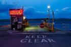 Warten auf die Fähre nach Bressay, Shetland