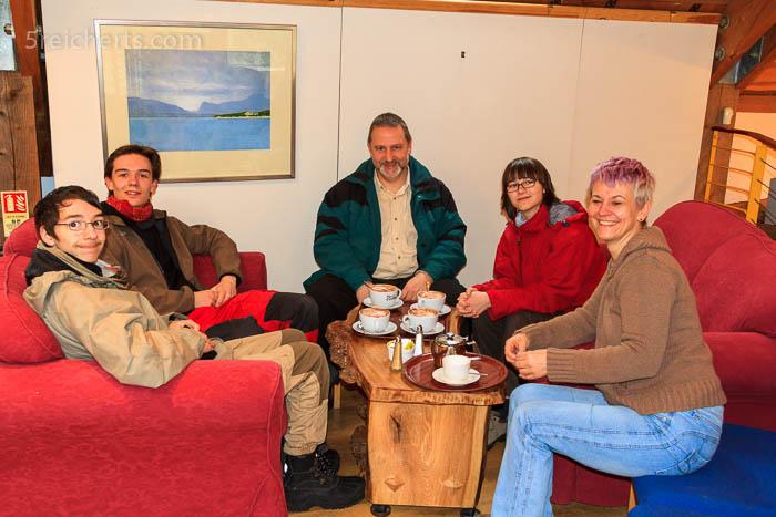 Treffen mit Nemi in Stornoway
