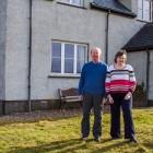 Anne und Chris vor Ihrem HausAnne und Chris vor Ihrem Haus