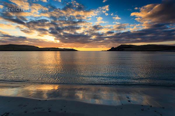 Sonnenuntergang am Bannaminn Beach