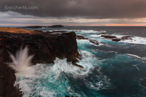 Der Drache am Abend, Shetland