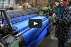 Geräuschkulisse in der Wollmühle Jamiesons, Shetland