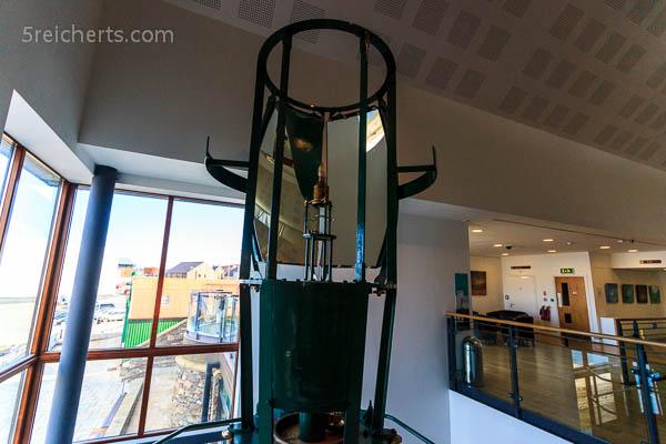 Bressay Lighthouse, Linse