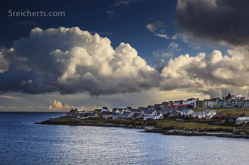 Abschied von Lerwick, Shetland