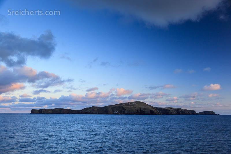 Fair Isle in der Nacht, Shetland