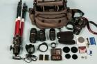 Fotoausrüstung - Canon 7d mit Tamron Objektiven