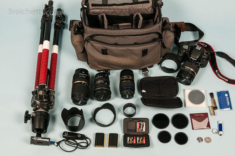 Gunters Kameraausrüstung