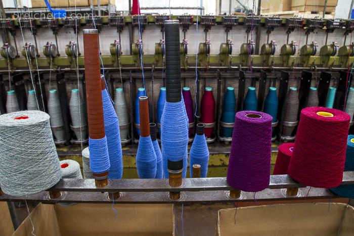 Jamiesons Wollfrabrik, Shetland