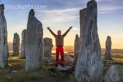 Esra und die Calanis Standing Stones