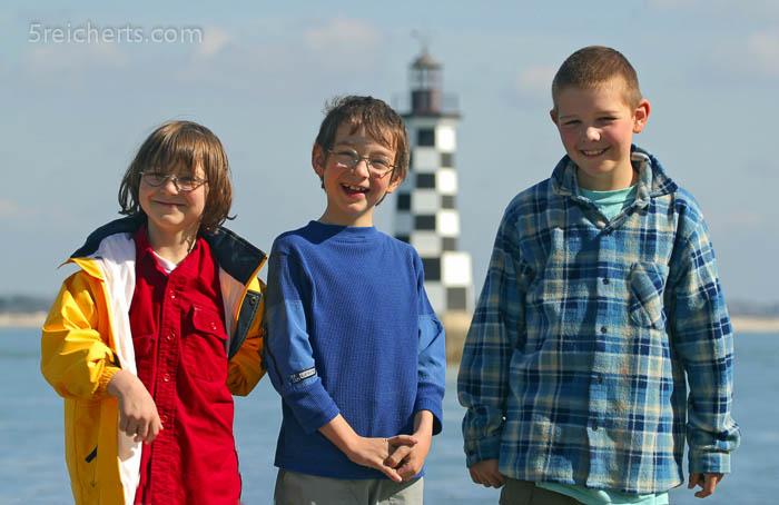 Die Kids in Frankreich