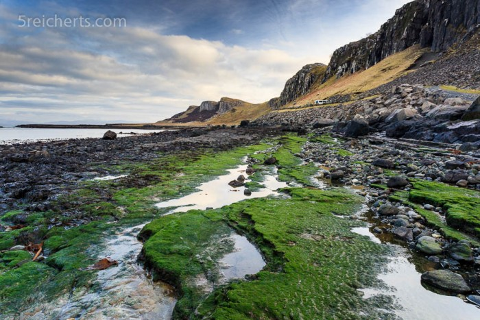 Staffin beach, Isle of Skye