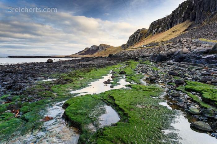 Staffin beach, Isle of Skye