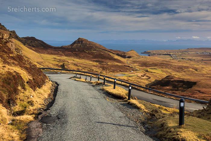 Straße zum Quirang, Isle of Skys