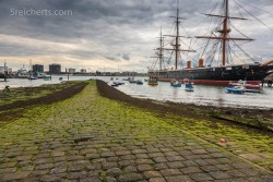 Im Hafen von Portsmouth