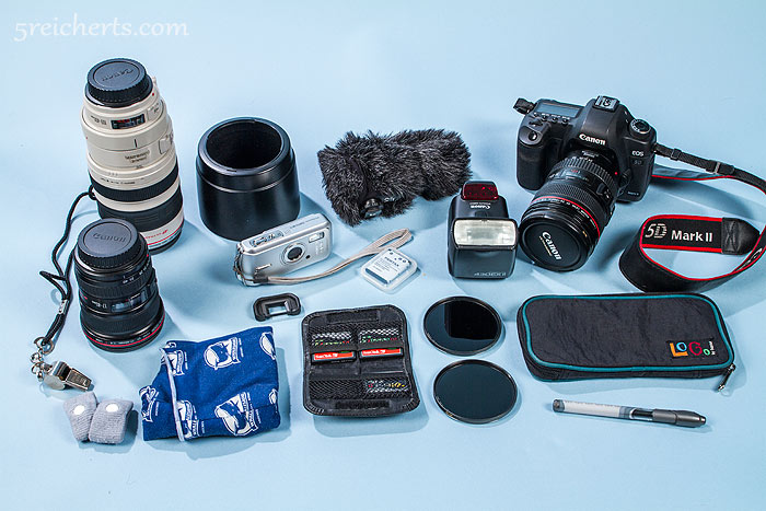 Fotoausrüstung Canon 5d MII und Canon Objektive