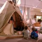 Im Museum, USA