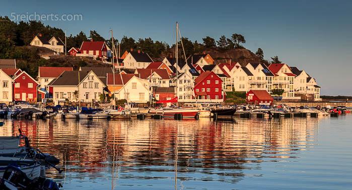 Der Hafen von Kalvøysund