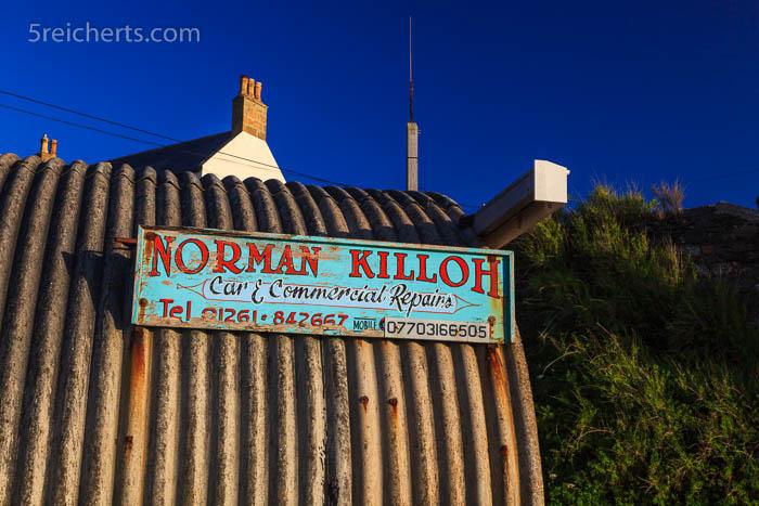 Schild, Portsoy, Schottland