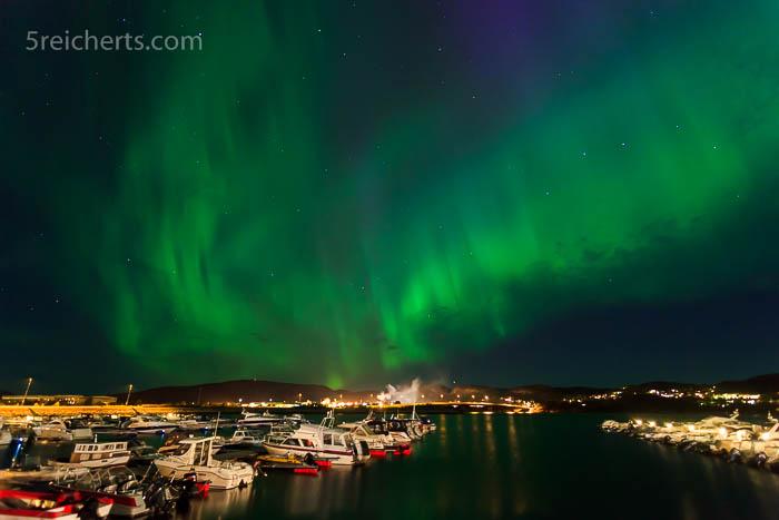 Nordlichter über Namsos