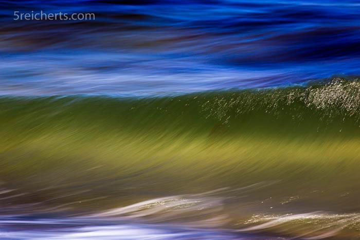 Wellenlinien und grandiose Farben