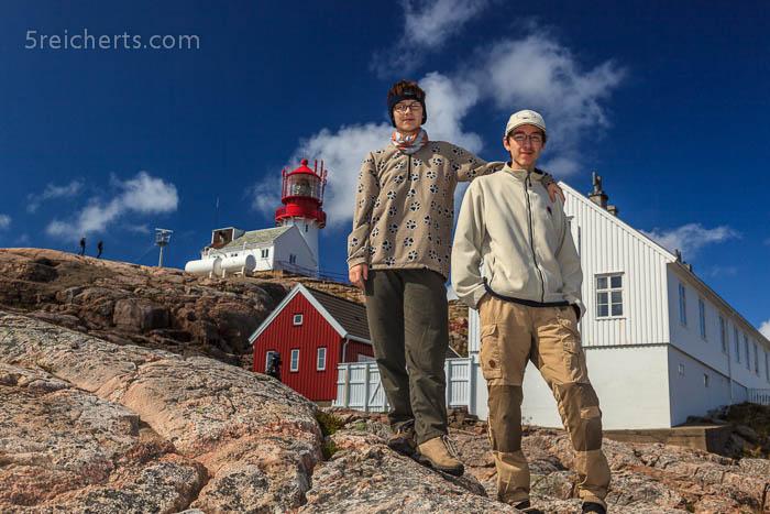 Amy und Noah, Lindesnes Leuchtturm