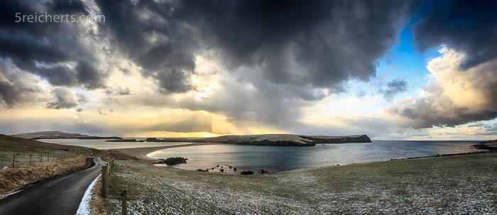StNinians Panorama, Shetland