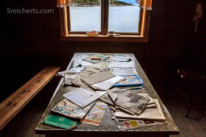 Das verlassene Büro